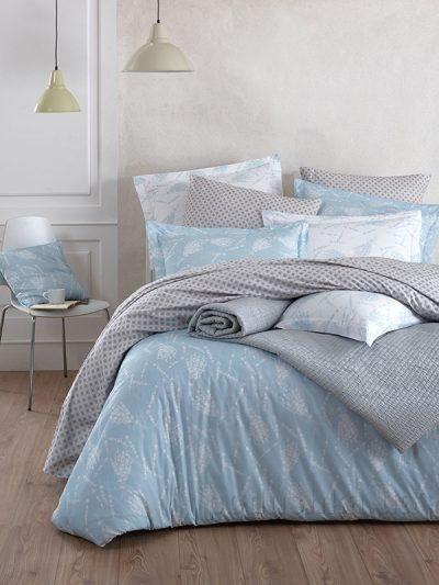 Комплект постельного белья SoundSleep «Lavender Aqua» ранфорс аква