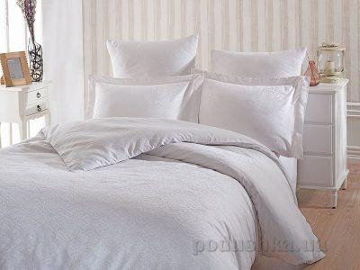 Комплект постельного белья SoundSleep «Terassa White» сатин-жаккард белый