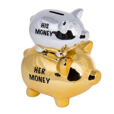 Копилка 2 свинки «His Money & Her Money»