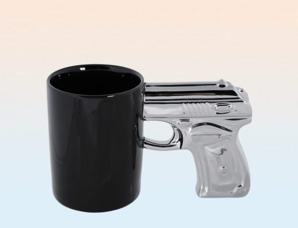 Кружка «Silver pistol»