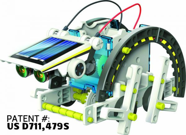 Обучающий набор на солнечных батарейках 14 в 1