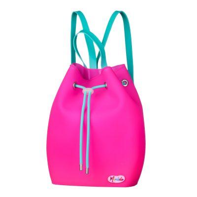 Силиконовый рюкзак для девочек CandyBag for Kids Bright Pink от MURCHELA