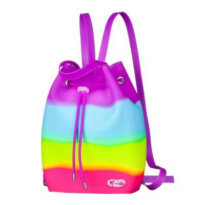 Силиконовый рюкзак для девочек CandyBag for Kids Purple от MURCHELA