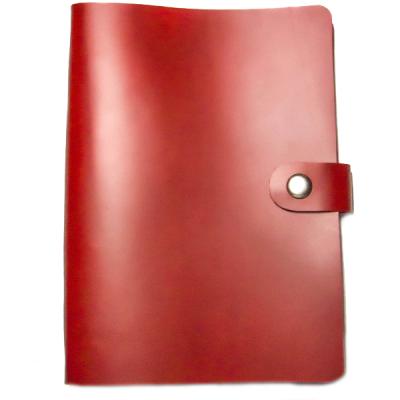 Большой кожаный органайзер LM (красный)