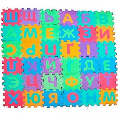 Детский коврик «Алфавит» (украинский)