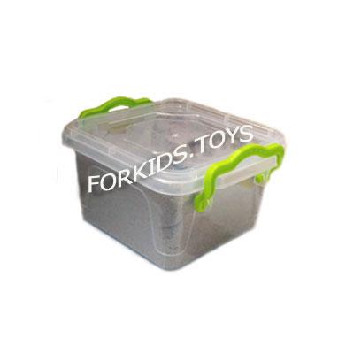 Кинетический песок 0,5 кг в контейнере WabaFun
