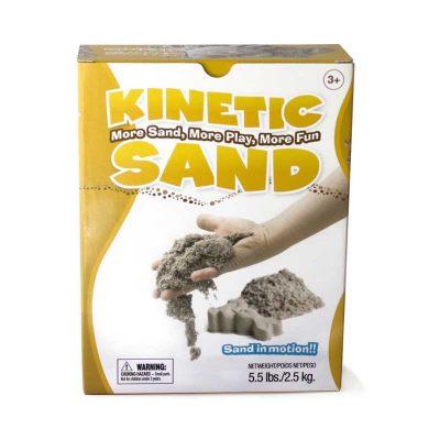 Кинетический песок 2.5 кг в коробке