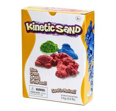 Кинетический песок цветной 3 кг