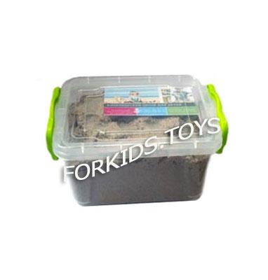 Кинетический песок в контейнере 1 кг