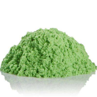 Кинетический песок зеленый 1 кг