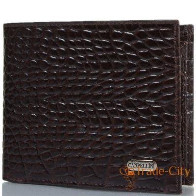 Мужской кожаный кошелек CANPELLINI (SHI1044-11)