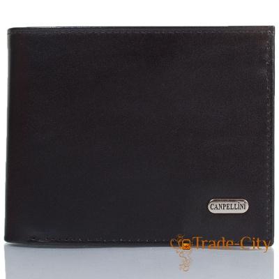 Мужской кожаный кошелек CANPELLINI (SHI1108-1)