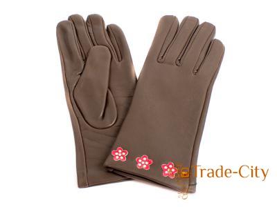 Перчатки женские кожаные ETERNO (E2512-Y)