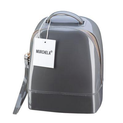 Силиконовая сумка-рюкзак CANDYBAG MURCHELA Grey