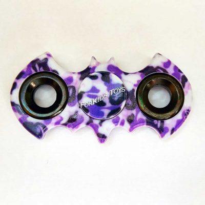 Спиннер «Бэтмен» Hand Spinner (фиолетовый камуфляж)