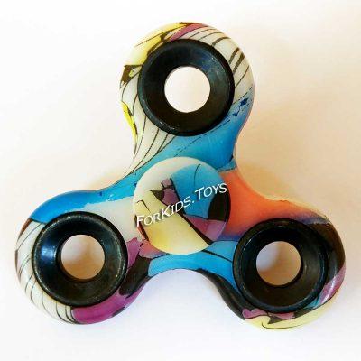 Спиннер керамический цветной принт Fidget Spinner
