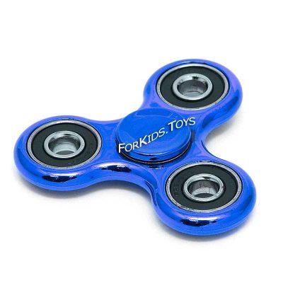 Спиннер металлический темно-синий Fidget Spinner