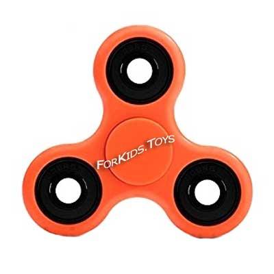 Спиннер оранжевый керамический Hand Spinner