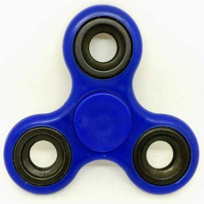 Спиннер синий антистресс игрушка Hand Spinner