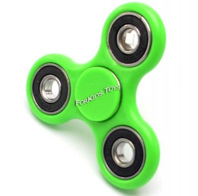 Спиннер зеленый керамический Hand Spinner