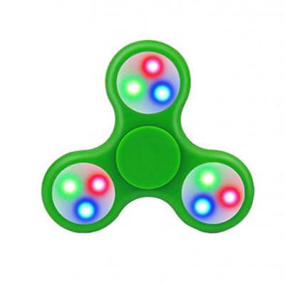 Спиннер зеленый с подсветкой LED Hand Spinner