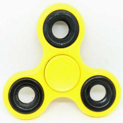 Спиннер желтый антистресс игрушка Hand Spinner