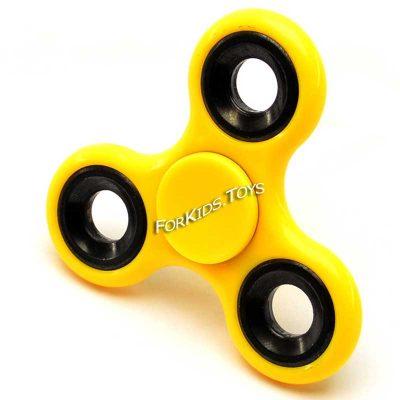 Спиннер желтый керамический Hand Spinner