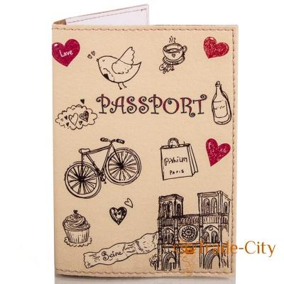 Женская обложка для паспорта PASSPORTY (KRIV016)