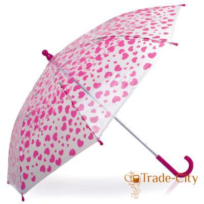 Зонт-трость детский HAPPY RAIN (U48558-3)