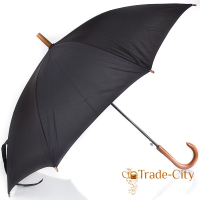 Зонт-трость мужской полуавтомат FARE (FARE1132-black)