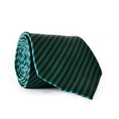 Галстук мужской зеленый (GIN-2010)