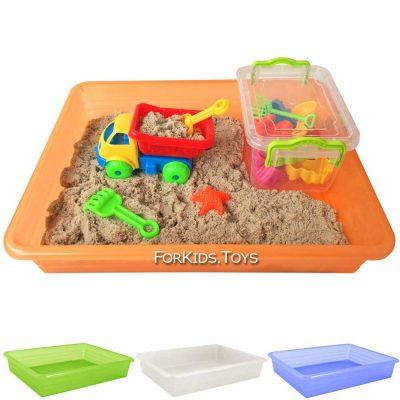 Набор кинетического песка «Самосвал Мини» 1 кг Kinetic Sand Швеция