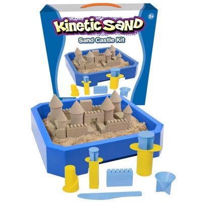 Набор кинетического песка WabaFun Original «Строим замок»
