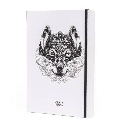 Скетчбук «Wolf» Crazy Sketches»