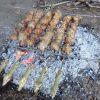 Комплект шампуров «Кабан» и разборной мангал «Лось» в кейсе