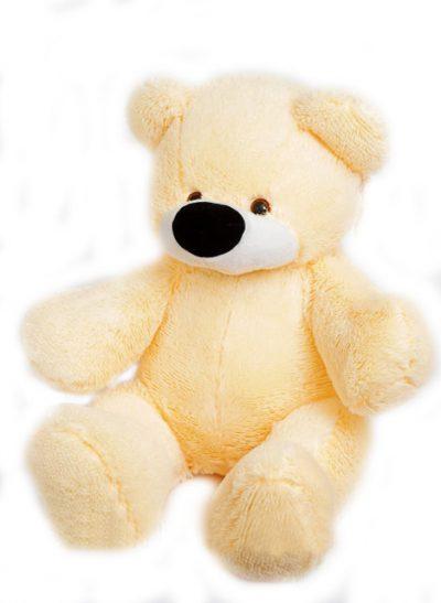 Мягкая игрушка - мишка «Бублик» (65 см) персиковый