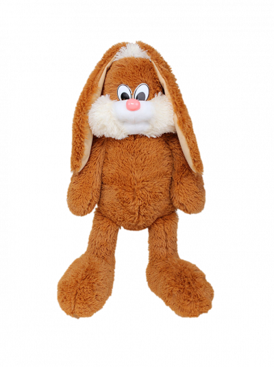 Мягкая игрушка - зайчик «Несквик» (75 см коричневый)