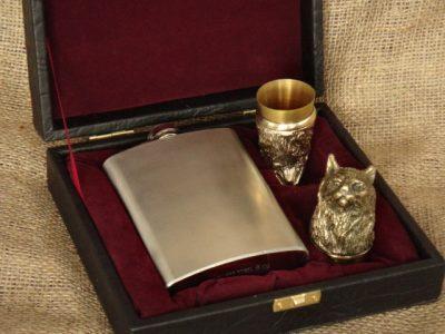 Набор охотничьих чарок из бронзы