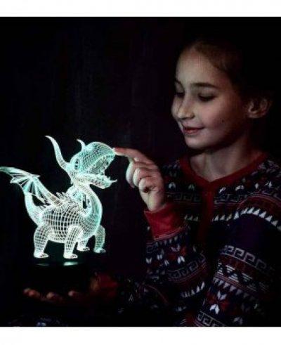 Ночник 3D «Дракон»