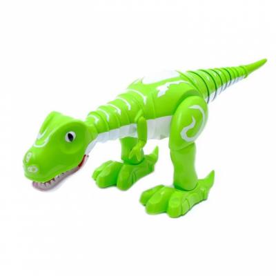 Интерактивный робот-динозавр 28301 со светом и музыкой (зеленый)
