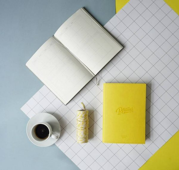 Блокнот для планирования Gifty «Planner Yellow»
