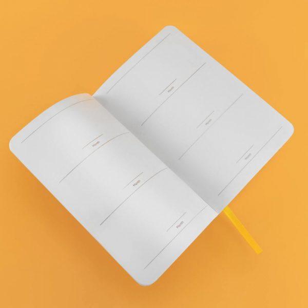 Блокнот для планирования Gifty «It's a plan» (фиолетовый)