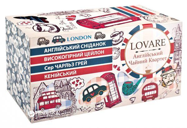 Коллекция чая Lovare «Чайный Квартет» ассорти