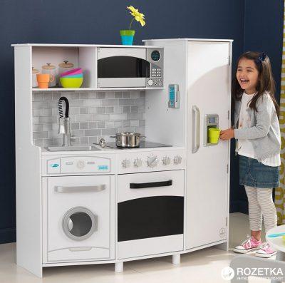 Большая детская кухня KidKraft со светом и звуками