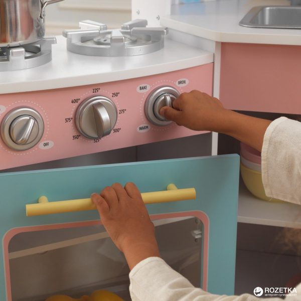Детская угловая кухня KidKraft «Deluxe»