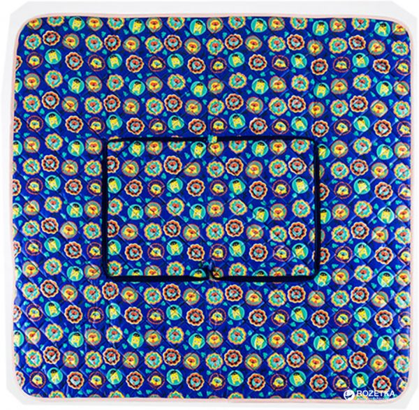 Классический плед из микрофибры IDEIA «100х100 см Голубой»