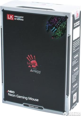 Компьютерная мышь A4Tech Bloody N50 USB Black