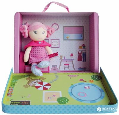 Кукла мягкая Doudou et Compagnie Demoiselles