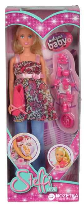 Кукла беременная Simba Steffi Love