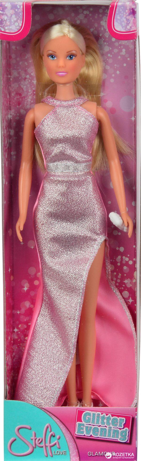 Кукла Simba Штеффи «Вечерний стиль» с сумочкой